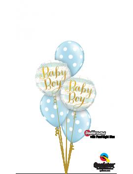 BOUQUET BALLONS BABY BOY