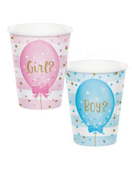GOBELETS GENDER REVEAL