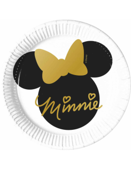 ASSIETTES MINNIE OR