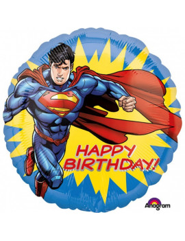 BALLON HAPPY BIRTHDAY SUPERMAN