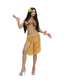 JUPE PAILLE HAWAI