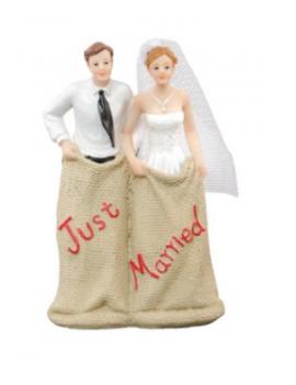 COUPLE MARIÉS RÉSINE