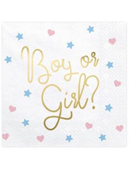 SERVIETTES BOY OR GIRL