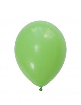 12 BALLONS VERTS LIME