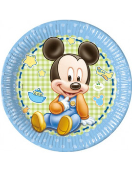 ASSIETTES BABY MICKEY
