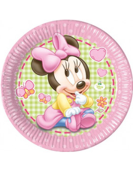 ASSIETTES BABY MINNIE