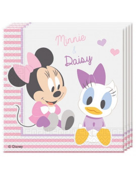 SERVIETTES MINNIE & DAISY