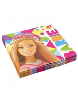 SERVIETTES BARBIE