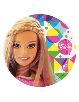 GRANDES ASSIETTES BARBIE