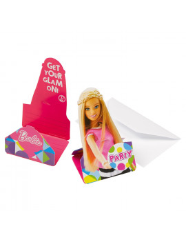 INVITATIONS BARBIE
