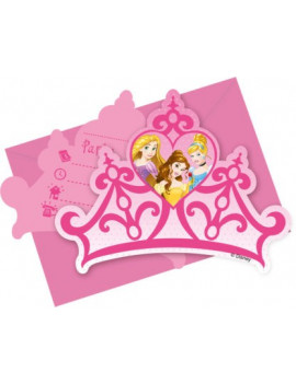 INVITATIONS PRINCESSES DISNEY