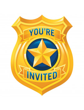 INVITATIONS POLICE