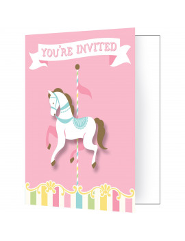 INVITATIONS CAROUSEL