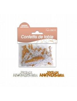 CONFETTIS DE TABLE CUIVRES...