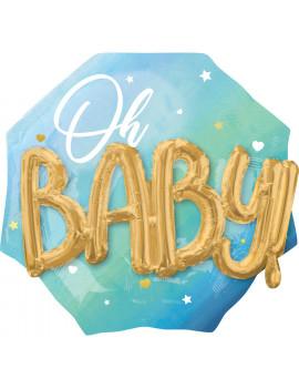 BALLON BABY BOY 3D