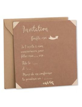 INVITATIONS AVEC ENVELOPPES...