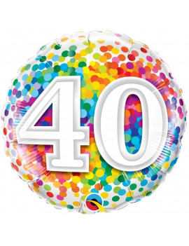 BALLON 40 MULTICOLORE
