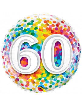 BALLON 60 MULTICOLORE
