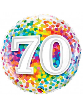 BALLON 70 MULTICOLORE
