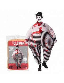 COSTUME GONFLABLE CLOWN