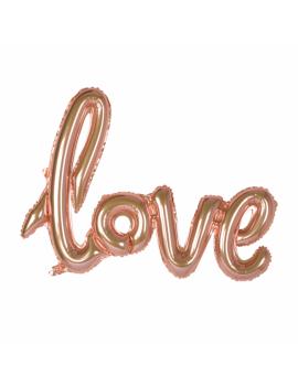 BALLON LOVE ROSE GOLD