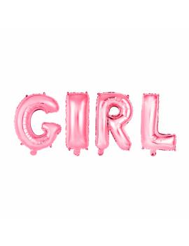 BALLON GIRL ROSE