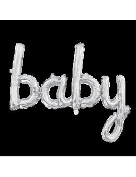 BALLON BABY ARGENT