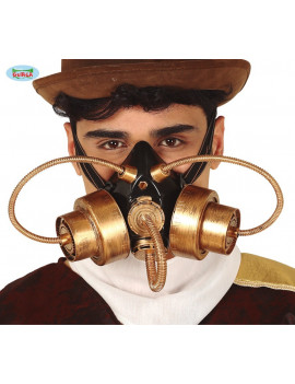 MASQUE A GAZ STEAMPUNK