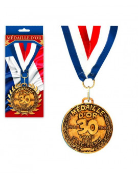 MEDAILLE OR 30 ANS