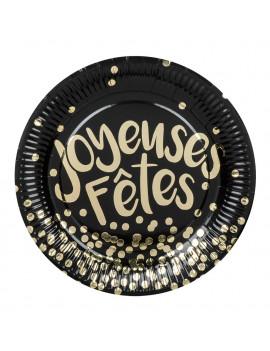 ASSIETTES JOYEUSES FÊTES
