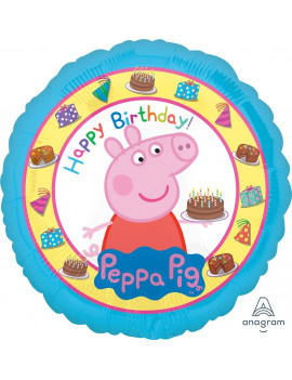 BALLON PEPPA PIG HAPPY...