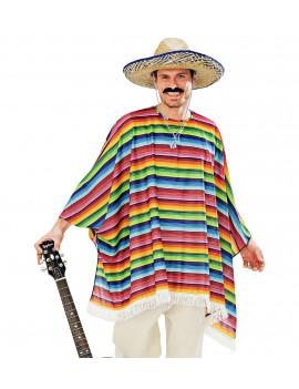 PONCHO + CHAPEAU MEXICAIN