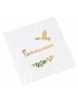 SERVIETTES COMMUNION