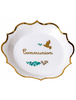 ASSIETTES COMMUNION