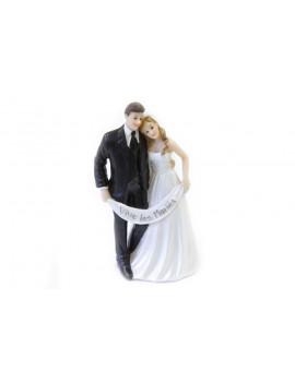 FIGURINE MARIAGE COUPLE
