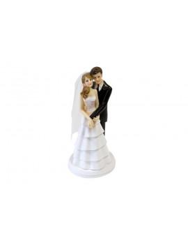 FIGURINE MARIAGE COUPLE ENLACE