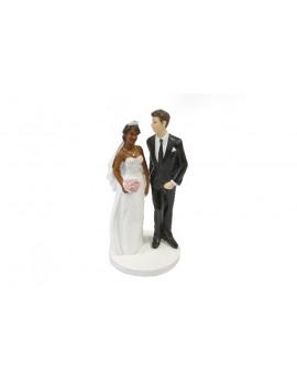 FIGURINE MARIAGE COUPLE MIXTE