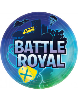 ASSIETTES BATTLE ROYAL