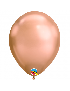 BALLON ROSE GOLD CHROME HELIUM