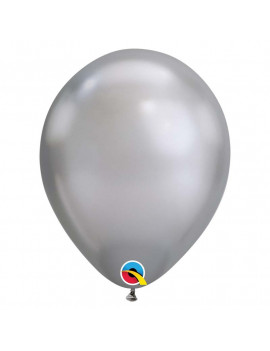 BALLON ARGENT CHROME HELIUM