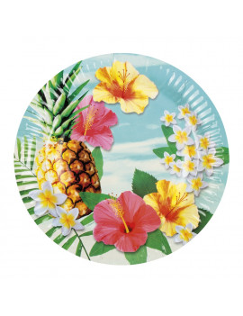 ASSIETTES TROPICALES
