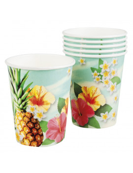GOBELETS TROPICALES
