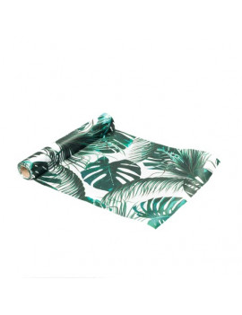 CHEMIN DE TABLE TROPICAL