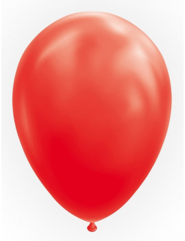 25 BALLONS ROUGES