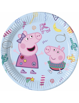ASSIETTES PEPPA PIG