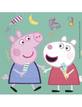 SERVIETTES PEPPA PIG