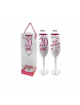 COUPE CHAMPAGNE 20 ANS