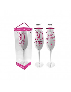 COUPE CHAMPAGNE 30 ANS