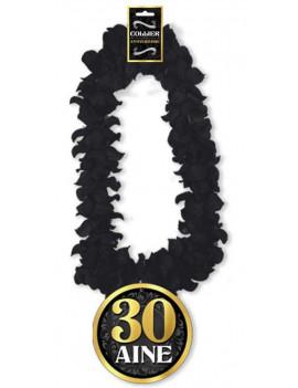 COLLIER DE FLEURS 30 ANS