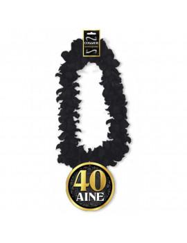 COLLIER DE FLEURS 40 ANS